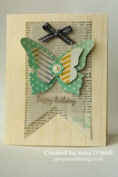Butterflies and Newsprint