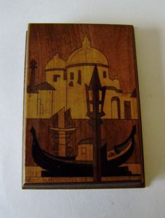 Vintage-Italian-inlaid-desk-wooden-writing-pad-holder