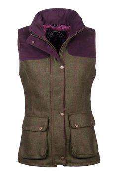 Rydale Ladies Bramham Tweed Waistcoat.