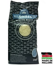 Swap ur usual rice for #kilombero & u'll be supporting farmers send kids to school in Malawi