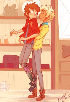 """""""Fanart for Ch19 of For the Morality and Sanity of Dipper Pines by charm0nder"""" art done by elentori on tumblr."""