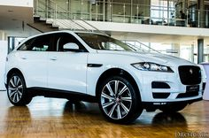 The side and front view of the #Jaguar #FPACE