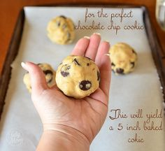 JACQUE TORRES'S SECRET Chocolate Chip COOKIE RECIPE - a NY times best cookie winner!recipe at  TidyMom.net