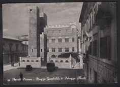 Ascoli Piceno Cartolina In Bianco E Nero Viaggiata Nel 1955 CAR11108 | eBay