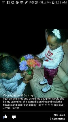 OMG I just melted! Can't wait until my man is a Father. ♥♥♥♥
