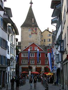 Grimmenturm in Zürich