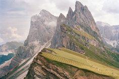 Alpene, Dolmittene, Grosse Fermeda og Sass Rigais