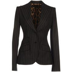 DOLCE & GABBANA Blazer ($950) ❤ liked on Polyvore