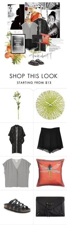 """""Sometimes beautiful things come into our lives out of nowhere. We can't always understand them, but we have to trust in them. I know you want to question everything, but sometimes it pays to just have a little faith."" ― Lauren Kate [Torment]"" by wildleopard ❤ liked on Polyvore featuring Wildfox, OKA, Koziol, Anna Sui, Secret Charm, Monki, Birkenstock, Balenciaga, Givenchy and birkenstock"