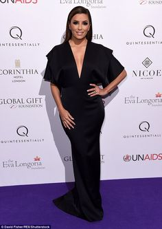 Victoria Beckham and Eva Longoria co-host Global Gift Gala #dailymail