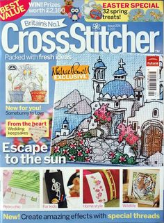 CrossStitcher Issue 224 April 2010 Hardcopy
