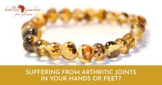Baltic amber provides a gentle, soothing alternative to help relieve pain, stiffness and inflammation. Amber Bracelet, Amber Jewelry, Beaded Bracelets, Baltic Amber, The Cure, Alternative, Facts