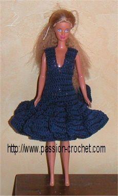Crochet Toys Barbie Clothes Crochet dress for Barbie doll Knitting Dolls Clothes, Crochet Barbie Clothes, Doll Clothes Barbie, Barbie Dolls, Crochet Barbie Patterns, Crochet Dolls, Barbie Wardrobe, Beautiful Crochet, Fashion Dolls