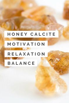Honey, also known as Amber, Calcite removes negative and stagnant energy. By refreshing your energy, Honey Calcite helps to stabilize your mood and motivate development in all aspects of your life. △ Relaxation △ Motivation △ Activates Psychic Abilities △ Balance △ Patience △ Confidence Crystals And Gemstones, Stones And Crystals, Stop Eye Twitching, Crystals For Manifestation, Energy Saving Tips, Honey Calcite, Gemstone Properties, Calcite Crystal, Crystal Healing Stones