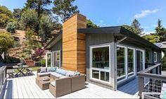 California Style Indoor/Outdoor Living: Modern California Style Wood Decks