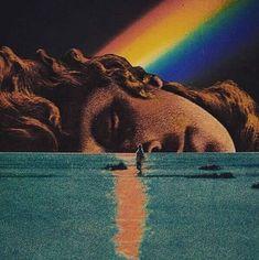 Psychedelic Art, Retro Futurism, Art Background, Surreal Art, Vaporwave, Aesthetic Art, Oeuvre D'art, Art Inspo, Art Photography