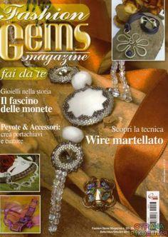 23 Fashion Gems 2011-09-10 - Fashion Gems magazine.Бижутерия.Украшения - Журналы по рукоделию - Страна рукоделия