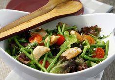 Salade croquante de haricots verts au poulet | Croquons La Vie - Nestlé