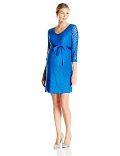 Three Seasons Maternity Women's 3/4 Sleeve V-Neck Dress, Royal, X-Large Three Seasons Maternity http://www.amazon.com/dp/B00XXZL12U/ref=cm_sw_r_pi_dp_pDXgwb195Z38F