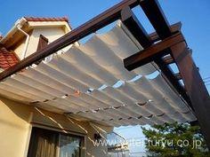 おすすめ暑さ対策!パーゴラ日除け 屋根の作り方(庭シェード DIY 画像 価格ウッドデッキ図面 材料 2/3 【DIYナビ・庭 デザイン 】 : DIYナビ