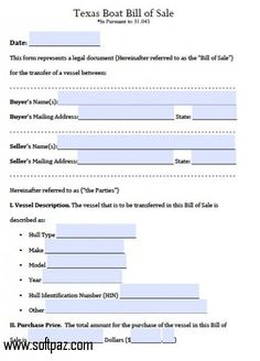 Printable Sample Car Bill Of Sale Form  Laywers Template Forms