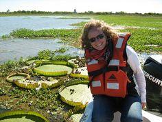 Excursión en lancha por el río Paraná