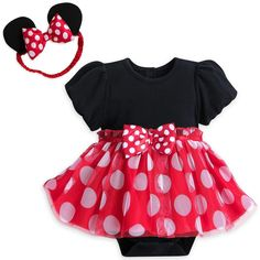 minnie mouse costume infant months - minnie mouse Disney Red Costume Bodysuit for Baby - Size months ** Learn more by visiting the image link. (This is an affiliate link) Disney Fancy Dress, Fancy Dress Up, Halloween Fancy Dress, Halloween Kostüm, Baby Halloween Costumes, Baby Costumes, Disney Costumes, Family Halloween, Minnie Maus Halloween
