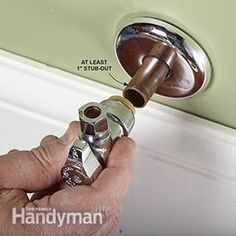 Most Exterior Trend And Also How To Replace A Shutoff Valve Family Handyman Diy Cleaners, Cleaners Homemade, Band Saw Reviews, Plumbing Drains, Mobile Home Makeovers, Homemade Laundry Detergent, Home Fix, Diy Home Repair, Water Conservation