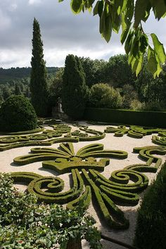 Garden of the Mateus Palace - Vila Real, Portugal