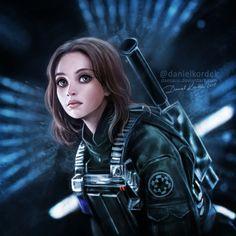 Rogue One: A Star Wars Story: Jyn Erso by daekazu on DeviantArt