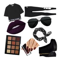 """Untitled #18"" by pudde on Polyvore featuring Opening Ceremony, NIKE, rag & bone and Morphe"