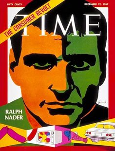 Ralph Nader Dec. 12, 1969 Time magazine cover