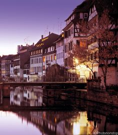 Week-end de Saint Valentin à Strasbourg (Valentine's day in Strasbourg, France) I have a photo of me standing near here!