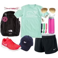 """""""Hiking Day"""" by classically-preppy on Polyvore"""