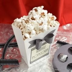 From a red carpet evening at the Oscars to a low-key movie night at home, this recipe for Truffle Popcorn is sure to impress!
