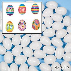 "For Pisanki Craft - Design your own easter eggs $10.50 for 144 pieces. Review on site says: ""I highly recommend using Bic Permanent Markers as they dry quickly and do not smear."""
