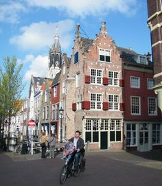 Vermeer was born in this house, Delft