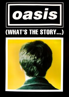 : 0724 Vintage Music Art Poster Oasis Whats the Story vintagemusic Vintage Music Art Poster Imagine Dragons Night Visions Tour 0562 All our prints are printed on Photosatin paper with Epson Epson UltraChrome inks with Vivid Magenta technolog Rock Vintage, Vintage Music, Vintage Style, Vintage Advertising Posters, Vintage Advertisements, Oasis Album, Oasis Music, Oasis Lyrics, Oasis Band