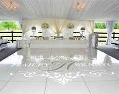 Cheap name decal, Buy Quality floor sticker directly from China floor decal Suppliers: Wedding Floor Stickers Customize Bride Groom Names & Initial Available Removable Vinyl Wedding Dance Floor Monogram Decal Floor Decal, Floor Stickers, Party Decoration, Wedding Decorations, Decor Wedding, Wedding Gifts, Wedding Scene, Table Decorations, Pista Led