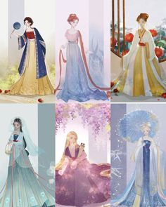 Disney Princess Facts, Disney Princess Pictures, Princess Art, Disney Pictures, Disney Time, Old Disney, Cute Disney, Disney Girls, Disney Artwork