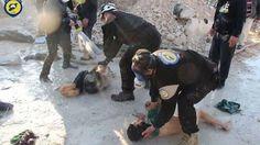 Mutmaßlicher Giftgasangriff: Vorwürfe der USA und der EU gegen die Regierung Assad