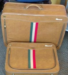 Antosek Luggage Train Case or Makeup Case with KEY | Vintage ...