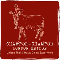 Champor Champor Thai-Malay restaurant wants you to enjoy the best cuisine in London and offers allergy advice about all dishes. London Bridge, London City, Thai Restaurant London, Dinner Menu, Lunch Menu, Under The Shadow, Found Out, Places To Eat, Dining