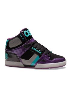 Osiris Shoes Black   Purple NYC 83 Hi-Top Sneaker - Kids a18ad4ca43a