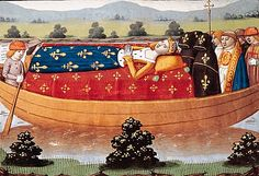 15th-century miniature showing Queen's Isabeau's 1435 funeral cortege on the Seine, from the chronicle of Martial d'Auvergne Isabeau of Bavaria (also Elisabeth of Bavaria-Ingolstadt; c. 1370 – 24 September 1435) was Queen of France as the wife of King Charles VI, whom she married in 1385. She was born into the old and prestigious House of Wittelsbach, the eldest daughter of Duke Stephen III of Bavaria-Ingolstadt and Taddea Visconti of Milan.