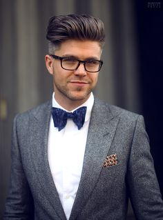 Highlighting the bow tie on a plain white shirt.