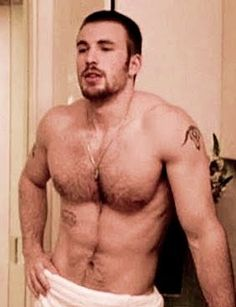 chris evans whole-lot-of-sexiness