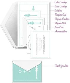 how to assemble your wedding invitation perfectly!