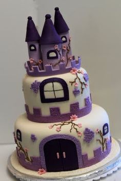 Layers of Love: Classic castle cake