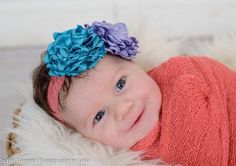 A personal favorite from my Etsy shop https://www.etsy.com/listing/266180430/flower-headband-singed-flowers-baby